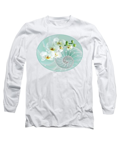 Intimate Fusion In Turquoise Long Sleeve T-Shirt