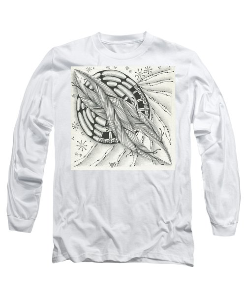 Into Orbit Long Sleeve T-Shirt by Jan Steinle
