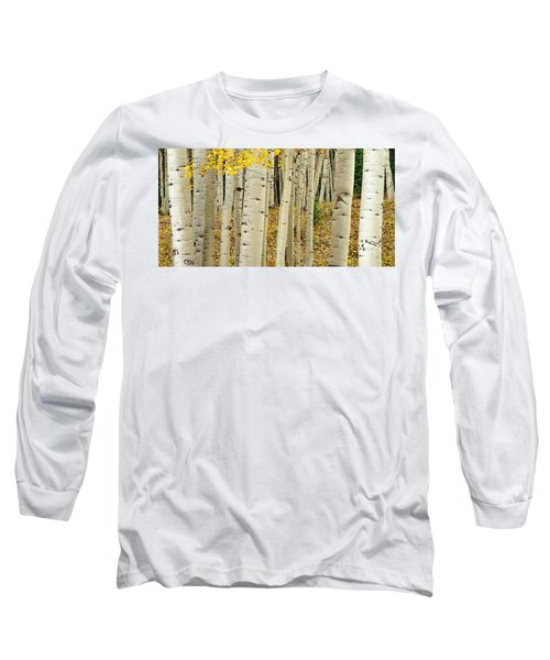 Long Sleeve T-Shirt featuring the photograph Into The Forest by Gary Lengyel