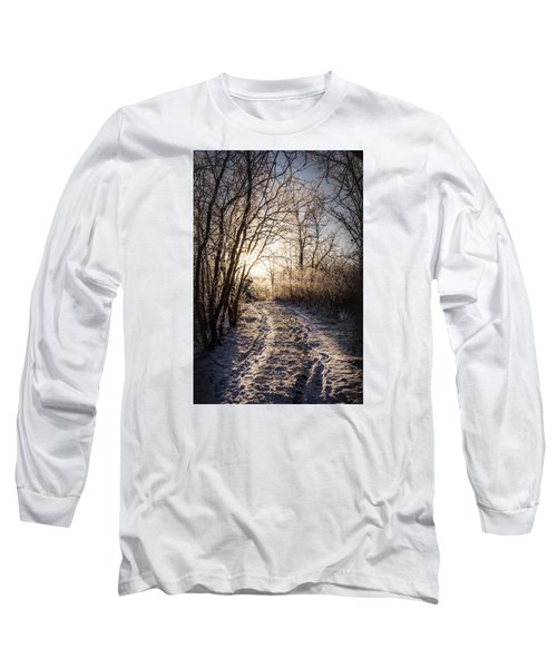 Long Sleeve T-Shirt featuring the photograph Into The Light by Annette Berglund