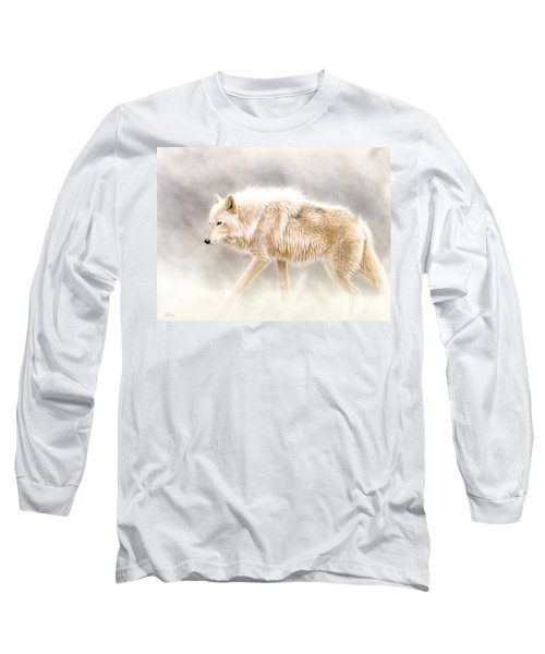 Into The Mist Long Sleeve T-Shirt by Sandi Baker