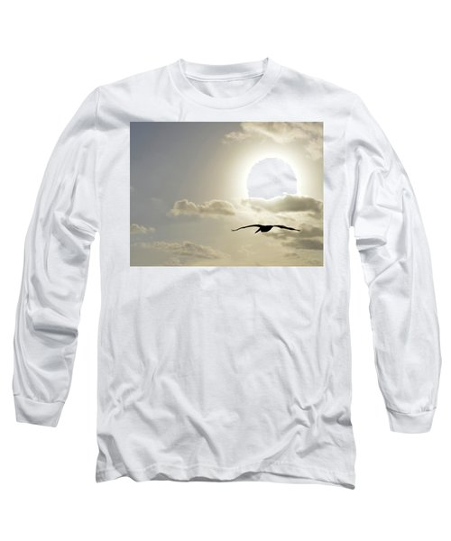 Into The Sun Long Sleeve T-Shirt by Sebastien Coursol