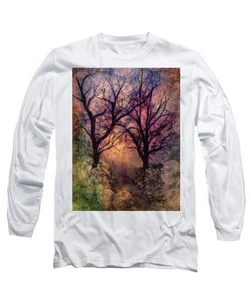 Into The Woods Long Sleeve T-Shirt by Annette Berglund