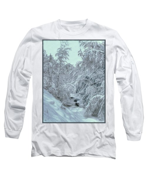 Into White Long Sleeve T-Shirt