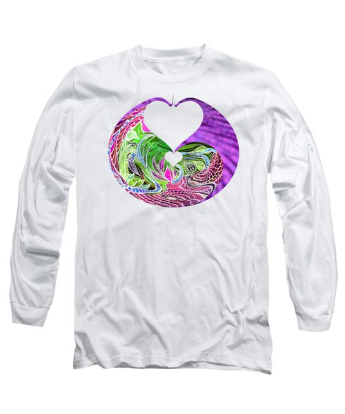Invert Hearts Long Sleeve T-Shirt