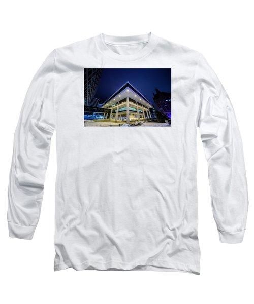 Inverted Pyramid Long Sleeve T-Shirt by Randy Scherkenbach