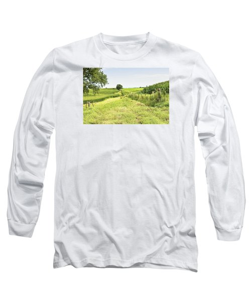 Iowa Corn Field Long Sleeve T-Shirt