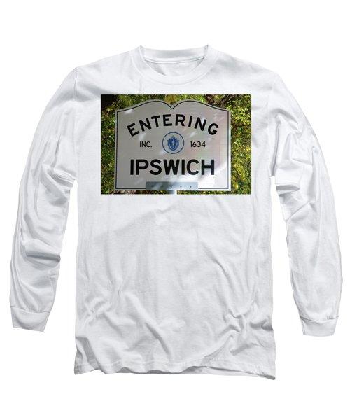 Ipswich 1634 Long Sleeve T-Shirt