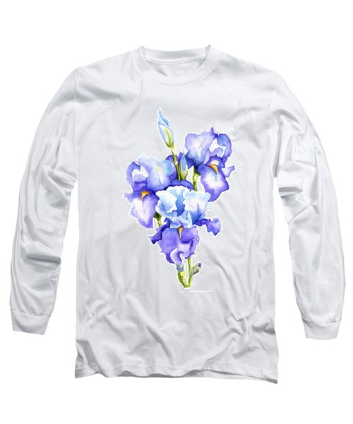 Iris Blooms Long Sleeve T-Shirt