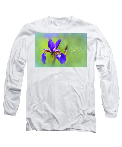 Iris Elegance Long Sleeve T-Shirt
