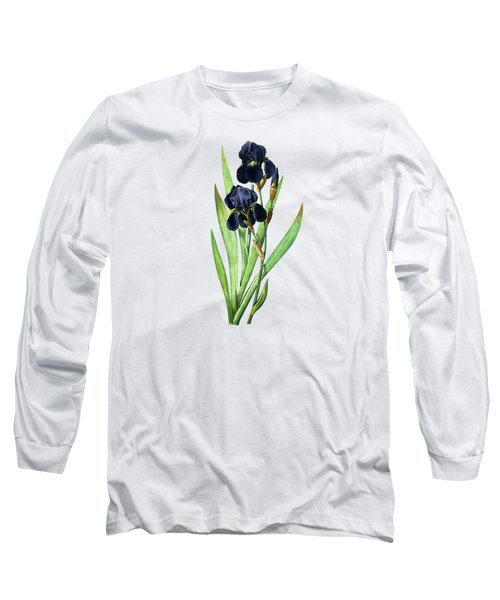 Iris Germanica Long Sleeve T-Shirt