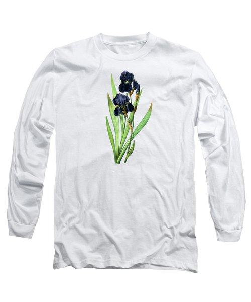 Iris Germanica Long Sleeve T-Shirt