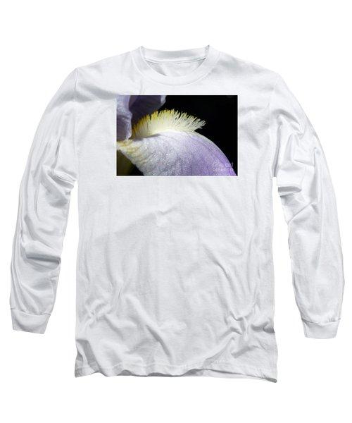 Long Sleeve T-Shirt featuring the photograph Iris by Jean Bernard Roussilhe