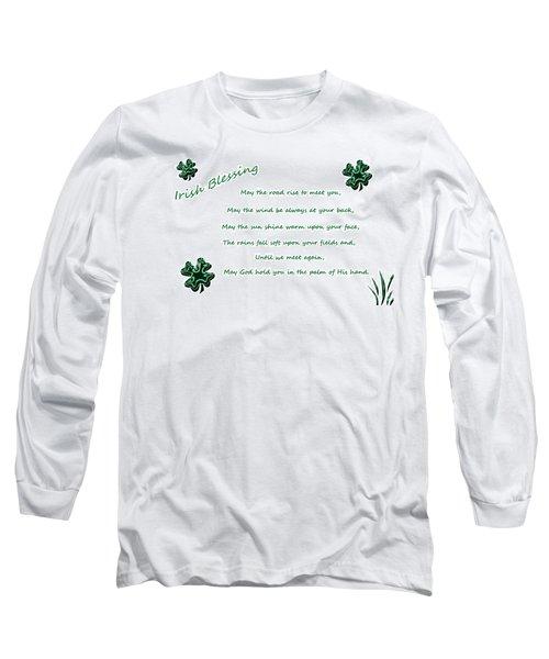Irish Blessing 2 Long Sleeve T-Shirt