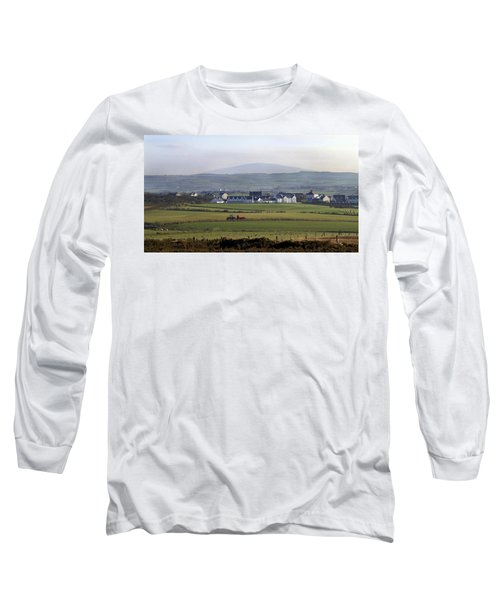 Irish Sheep Farm II Long Sleeve T-Shirt by Henri Irizarri
