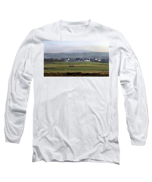 Irish Sheep Farm II Long Sleeve T-Shirt
