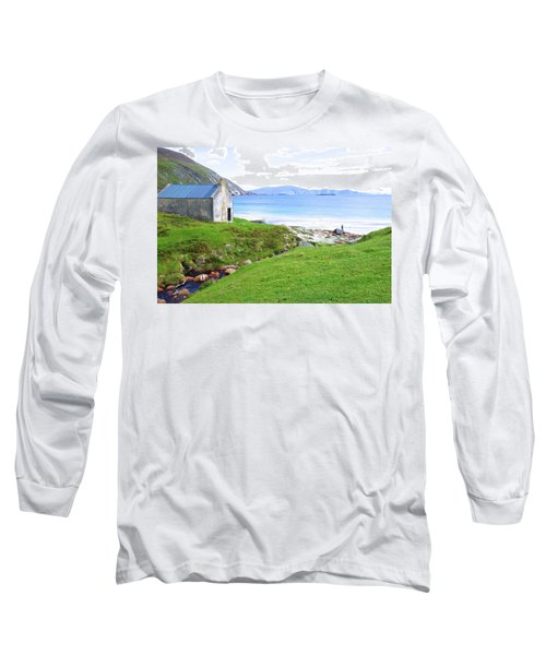 Irish Treasures.. Past And Present Long Sleeve T-Shirt by Charlie and Norma Brock