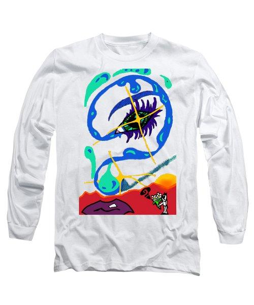 iseeU Long Sleeve T-Shirt by Flyn Phoenix