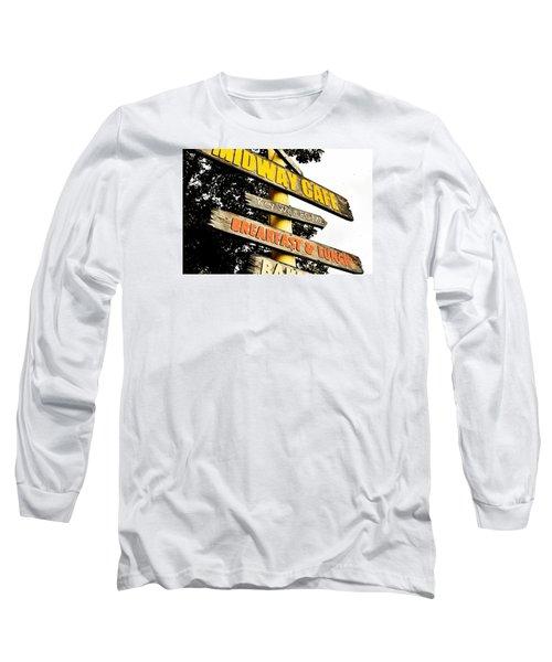 Islamorda Spot Long Sleeve T-Shirt by JAMART Photography