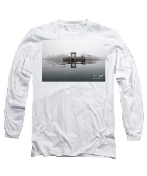 Island Boat Dock Long Sleeve T-Shirt