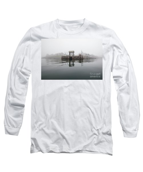 Island Boat Dock Long Sleeve T-Shirt