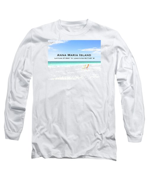 Island Breezes Long Sleeve T-Shirt by Margie Amberge
