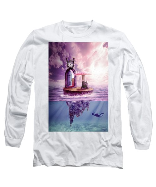 Island Dreaming Long Sleeve T-Shirt by Nathan Wright