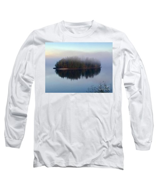 Island In The Autumn Mist Long Sleeve T-Shirt