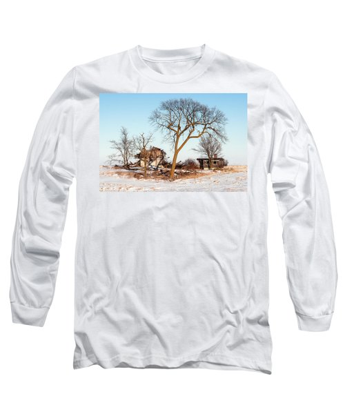 Island In The Snow Long Sleeve T-Shirt