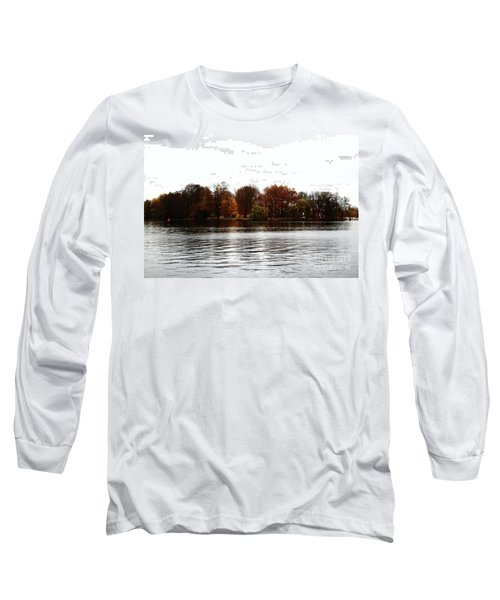Island Of Trees Long Sleeve T-Shirt by Ana Mireles