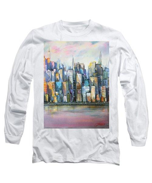 Island Sunrise Long Sleeve T-Shirt