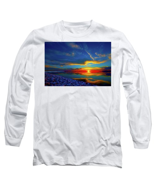Island Sunset Long Sleeve T-Shirt