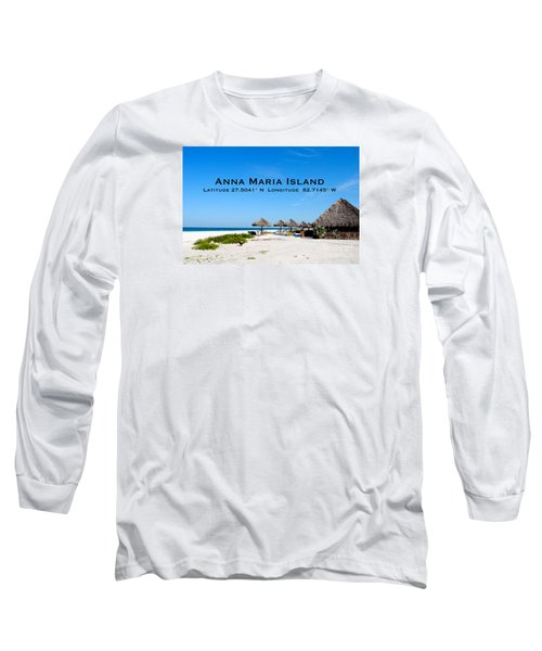 Island Time Long Sleeve T-Shirt by Margie Amberge