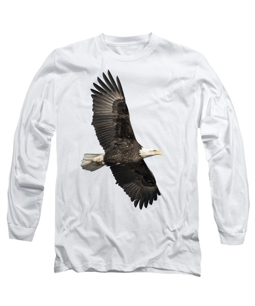 Isolated American Bald Eagle 2016-4 Long Sleeve T-Shirt