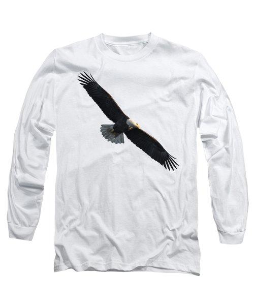 Isolated American Bald Eagle 2016-5 Long Sleeve T-Shirt