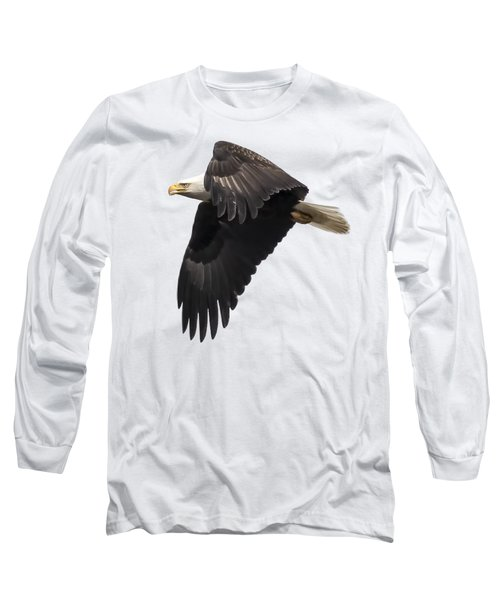 Isolated American Bald Eagle 2016-6 Long Sleeve T-Shirt