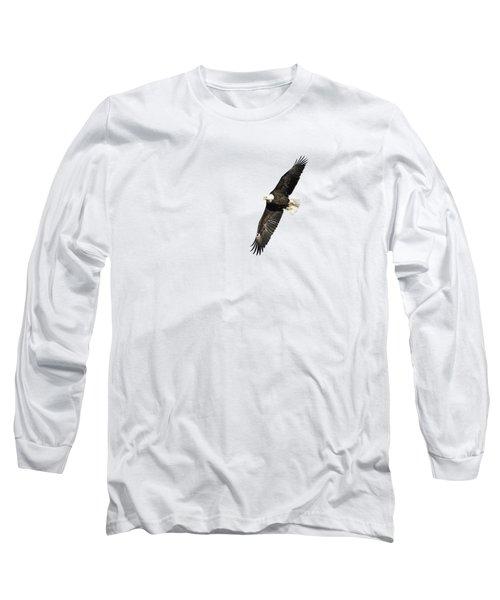 Isolated American Bald Eagle 2016-7 Long Sleeve T-Shirt