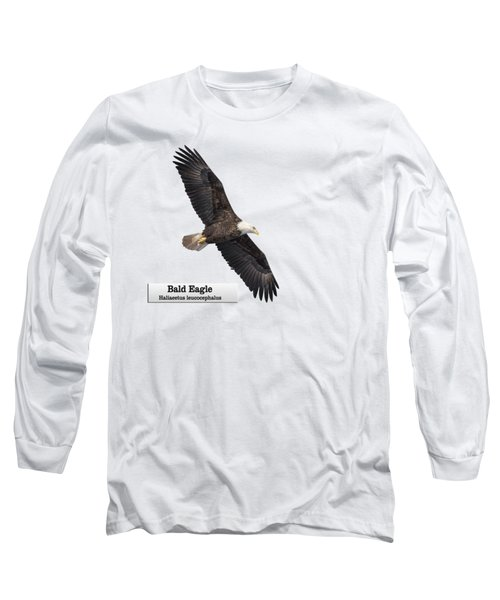 Isolated Bald Eagle 2018-1 Long Sleeve T-Shirt