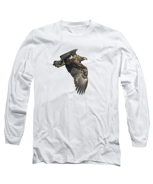 Isolated Eagle 2017-2 Long Sleeve T-Shirt by Thomas Young