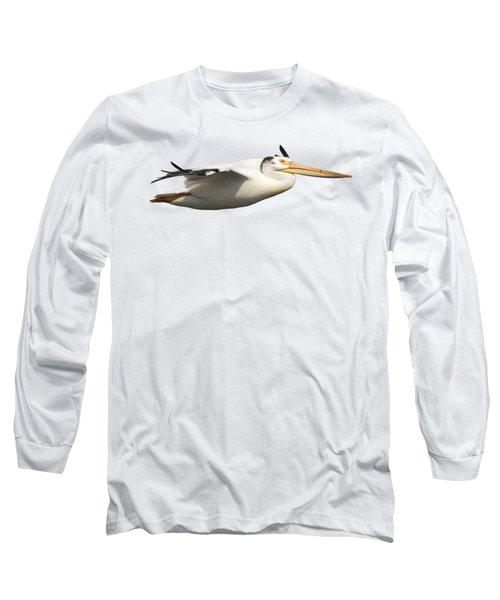 Isolated Pelican 2016-1 Long Sleeve T-Shirt