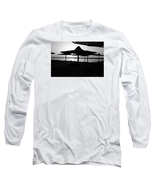 Long Sleeve T-Shirt featuring the photograph It Can Be Done by Jez C Self