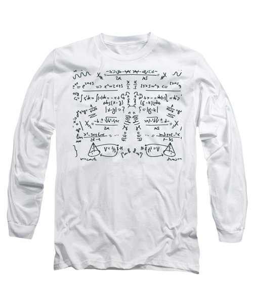 Long Sleeve T-Shirt featuring the drawing It Figures... by ReInVintaged