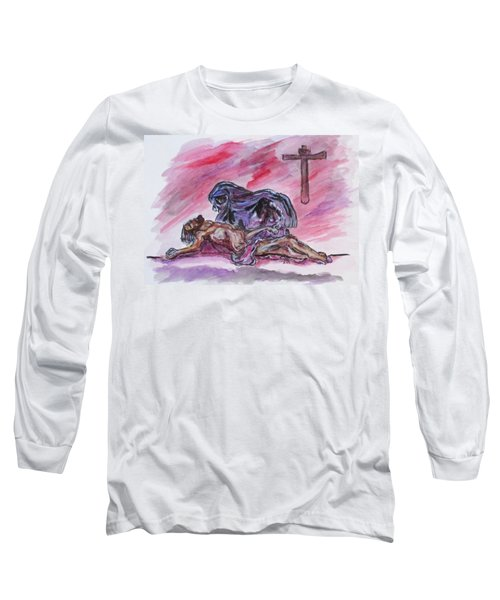 It Is Done Long Sleeve T-Shirt by Clyde J Kell