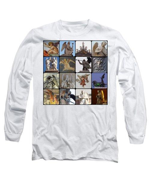 Italian Angels Long Sleeve T-Shirt by Tim Mattox