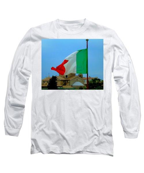 Italian Colors Long Sleeve T-Shirt