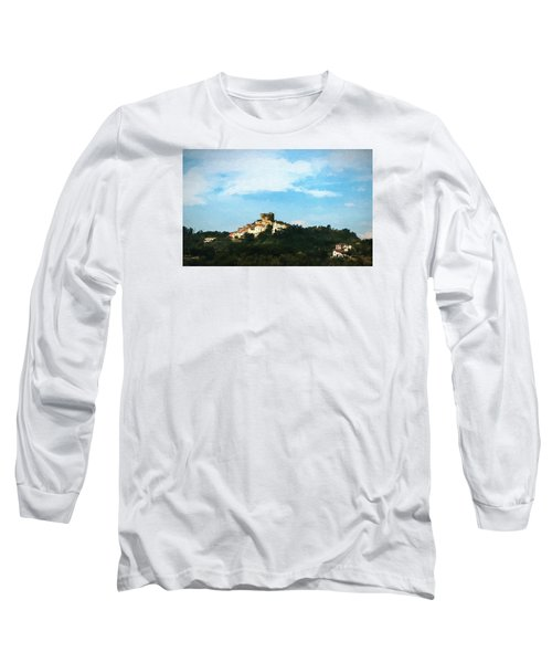 Long Sleeve T-Shirt featuring the photograph Italian Countryside by Kathleen Scanlan