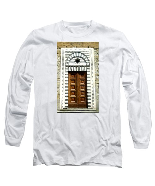 Italy, Door, Florence, Firenze Long Sleeve T-Shirt