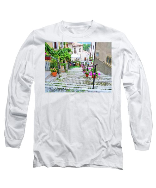 Italy In The Spring  Long Sleeve T-Shirt