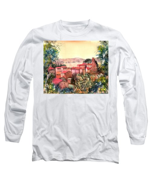 Italy Pai Di Sopra On Lake Garda Long Sleeve T-Shirt