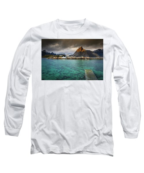 It's Not The Caribbean Long Sleeve T-Shirt by Alex Conu
